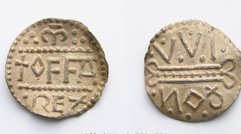 Anglo-Saxon penny of King Offa - free online coin valuation