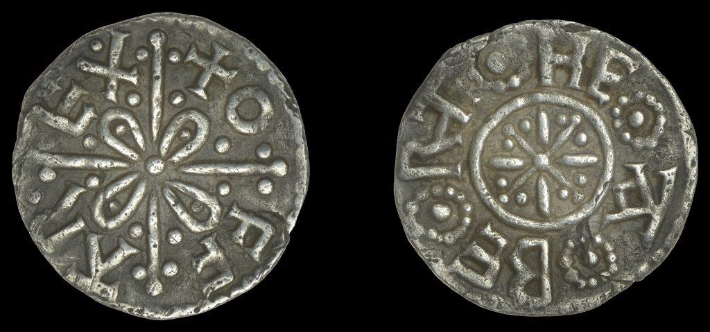 Lot 10 - Offa penny of Canterbury