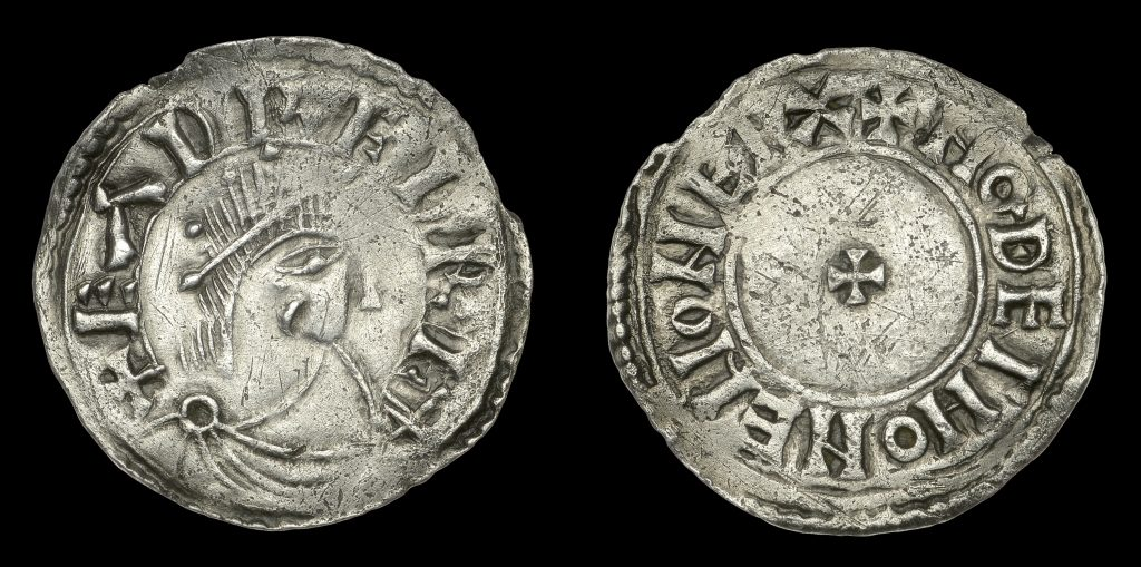 Lot 12 - Eadred penny