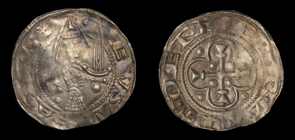 Lot 28 - Eustace Fitzjohn penny of York