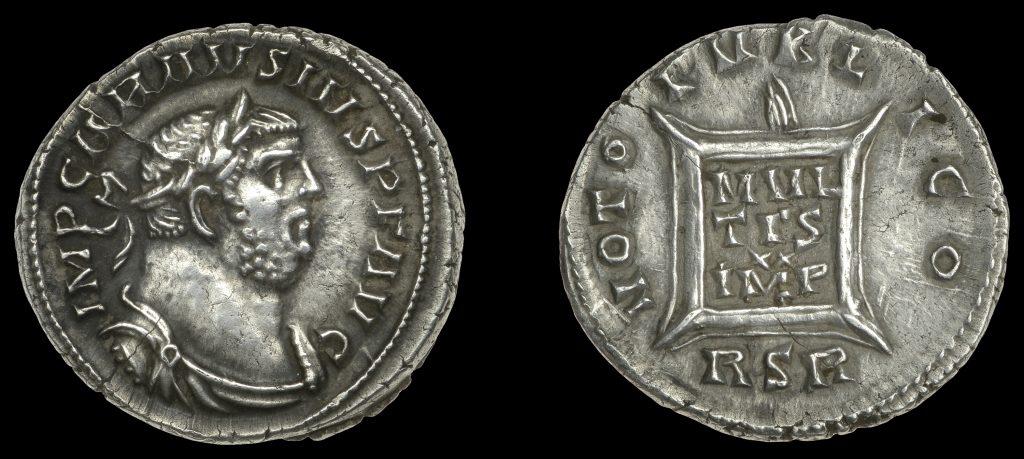 Lot 572 - Carausius denarius