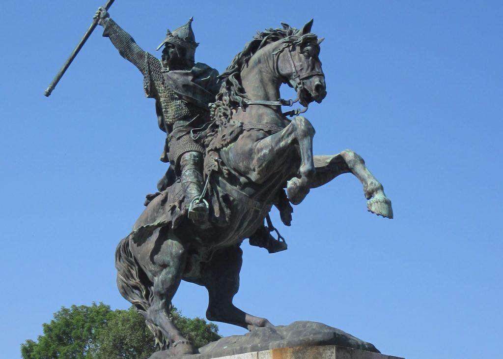 William the Conqueror statue in Falaise