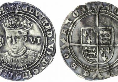 Lot 3678, Edward VI Sixpence