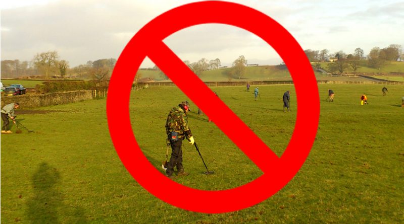 Restrictions on Metal Detecting
