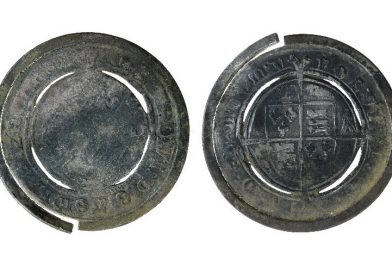 Gaming Chip from Edward IV Shilling