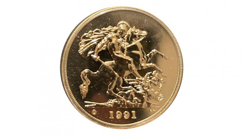 £5 gold piece
