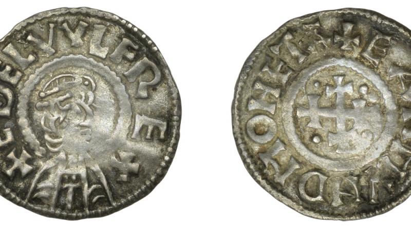 Lot 1, Æthelwulf Penny
