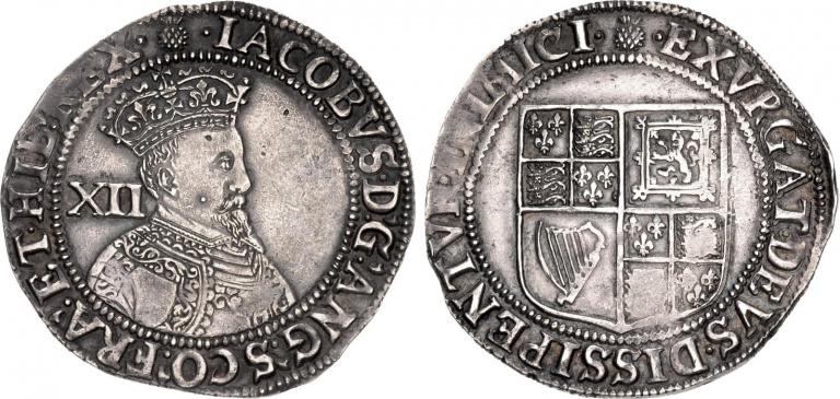 Lot 1031, James I, Shilling