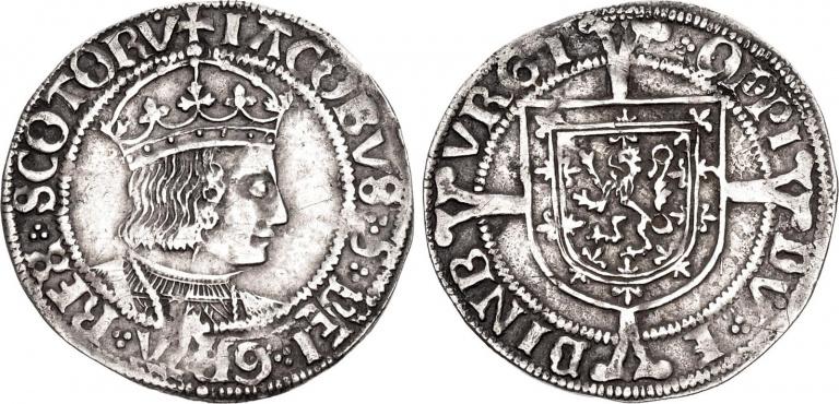 Lot 1047, James V, Groat