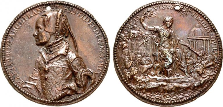 Lot 1086, Mary Cast Medal