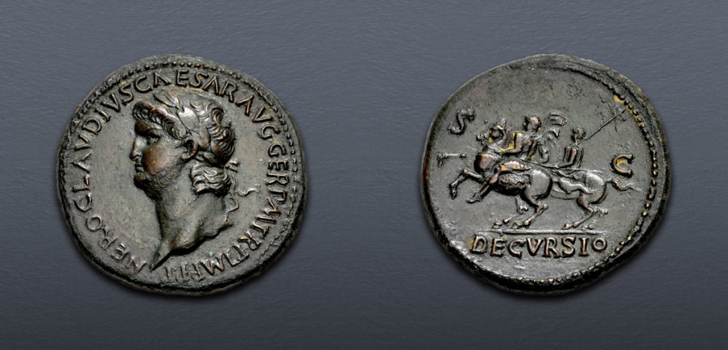 Lot 499 Nero Sestertius
