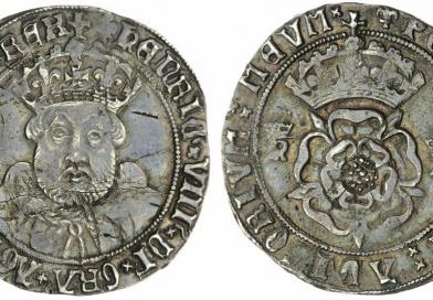 Lot 5288, Henry VIII Testoon