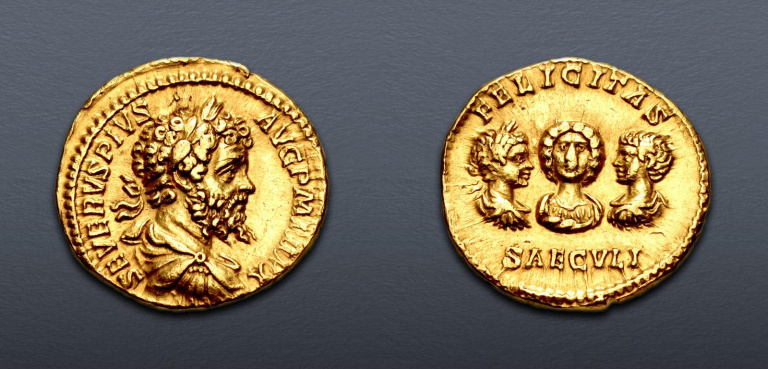 Lot 573 - Septimus Severus, Aureus
