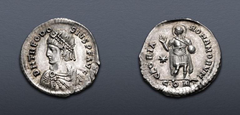 Lot 632, Theodosius II Miliarense