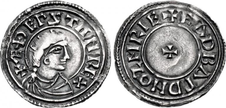 Lot 989, Æthelstan Penny
