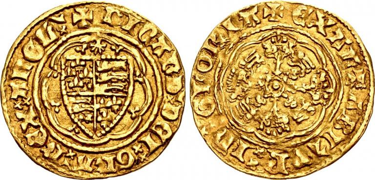 Loto 1010, Richard II, Quarter Noble
