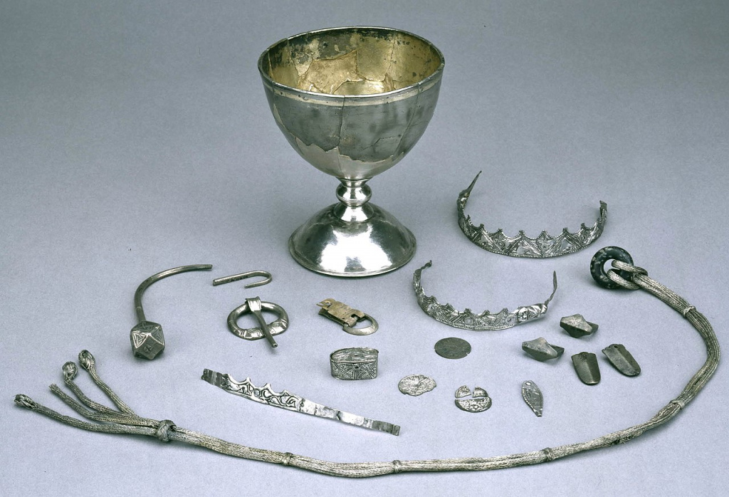 Trewhiddle hoard