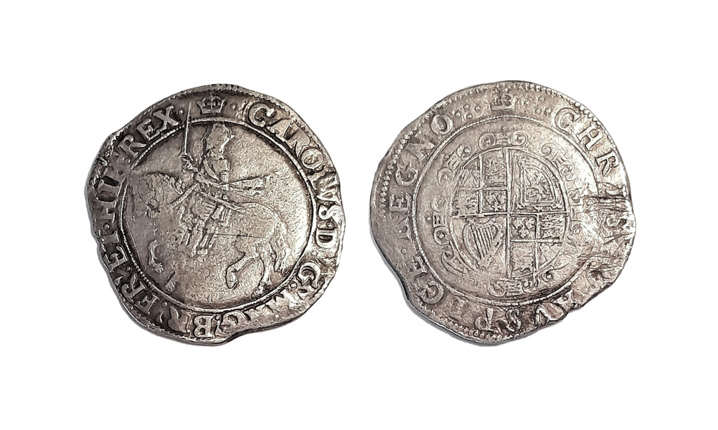 Charles I halfcrown