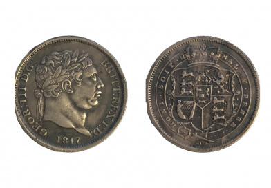 George III shilling
