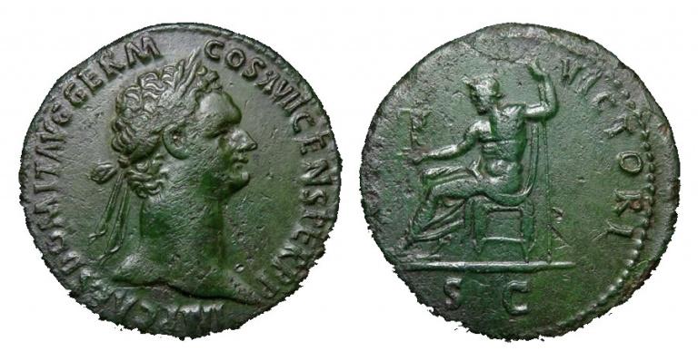 Lot 246, Domitian Sestertius