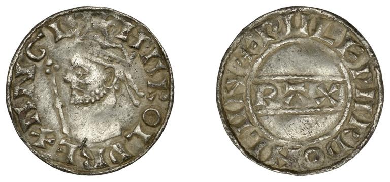 Lot 33, Harold II penny