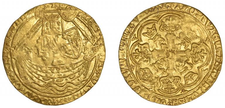 Lot 48, Henry IV, Noble