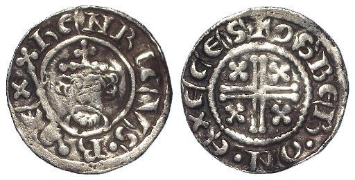 Lot 744, Henry II, penny