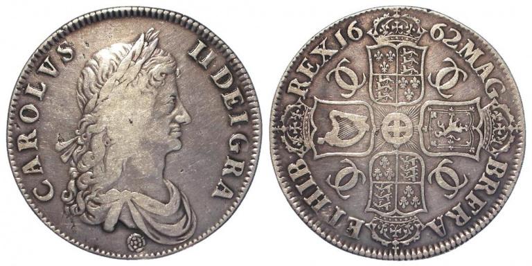 Lot 75, Charles II Crown