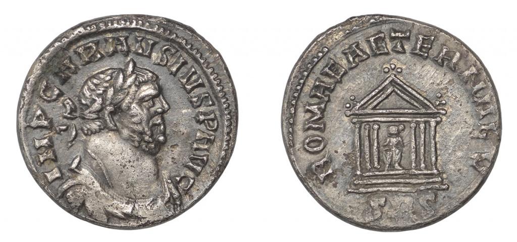 Lot 866, Carausius, denarius