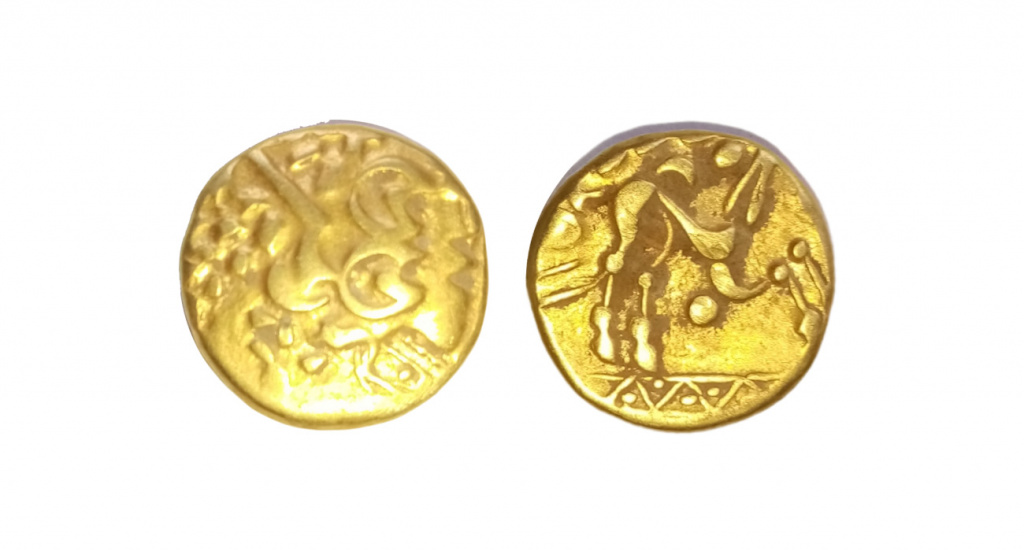 gold stater of the ambiani