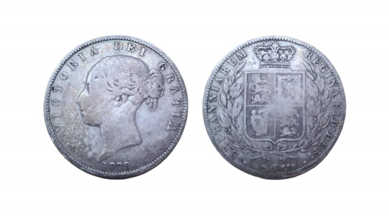 Victoria half crown