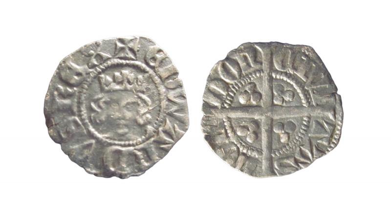 Edward III halfpenny