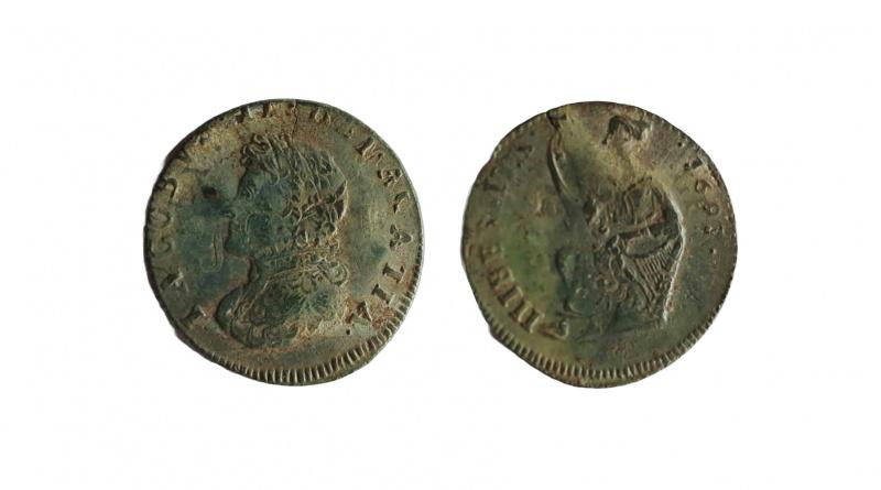 James II, Irish halfpenny