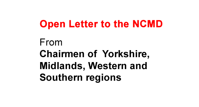 Open Letter to the NCMD