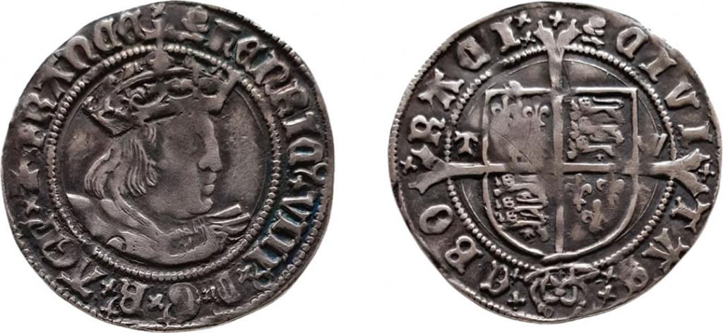 Henry VIII Groat of York
