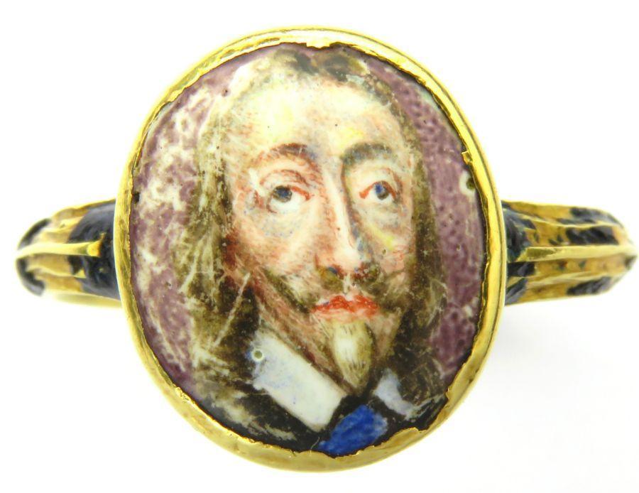 Charles I mourning ring