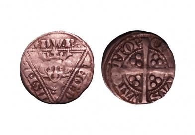 Edward I Irish Penny