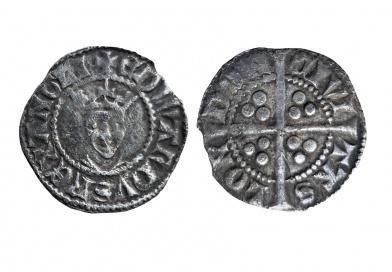 Edward II half penny