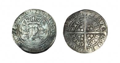 Henry VI groat Calais mint