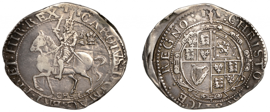 Charles I halcrown