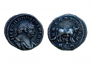 Silver denarius of Carausius