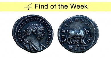 Denarius of Carausius