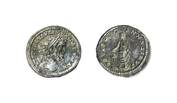 Denarius of Septimius Severus