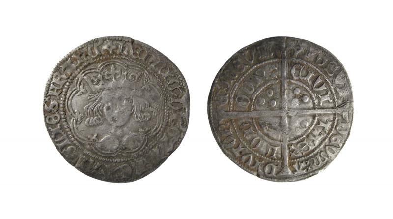 Groat of Henry VI Calais mint